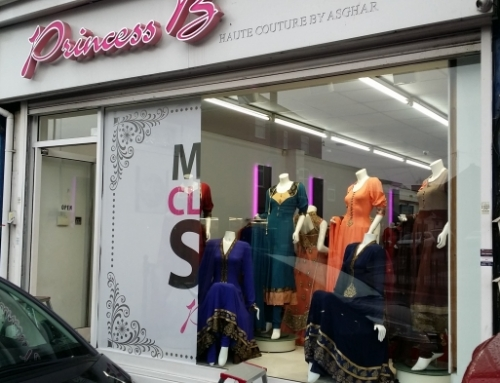 Window graphics done in Contra Vision for a retail shop in Birmingham (Massive Clearance Sale)