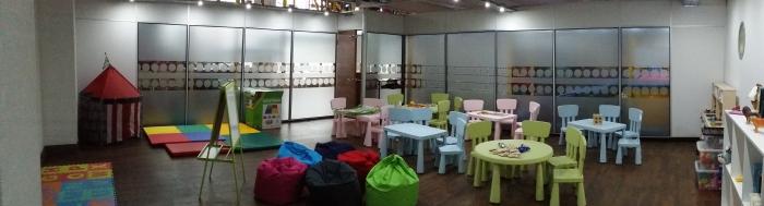 Children soft play area