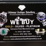 Window design for a jewellers based in jewellery quarter
