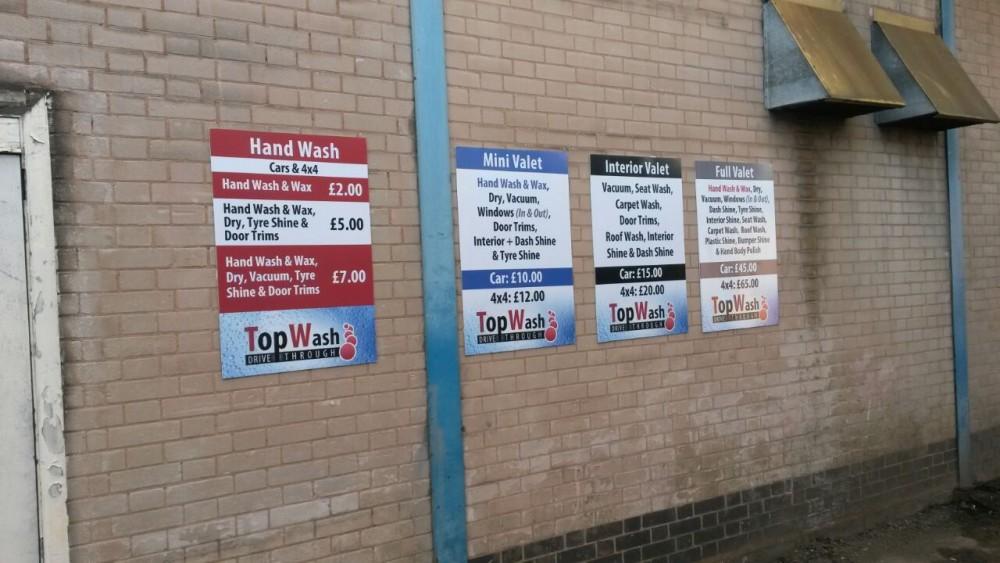 Birmingham Correx sign board