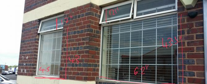 windows before we apply window graphics