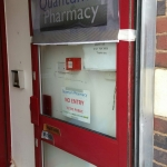 Shop Sign Contra Vision Birmingham