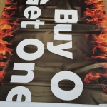 Buy 1 and get 1 half price PVC Banner