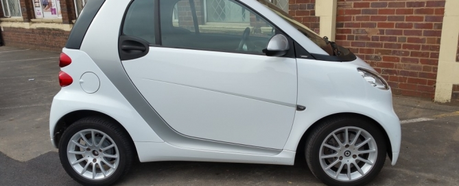 Smart Car Side View