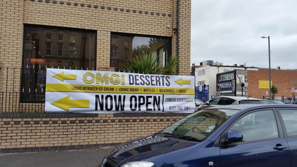 Birmingham OMG Desserts Coventry