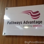 acrylic door plaque