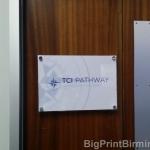 Door Acrylic Plaque
