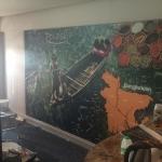 Restaurant Custom wallpaper