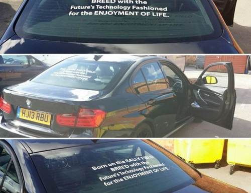 Personalise your car with a quotation. Contact @BigPrintBham #bigprintbirmingham #printingbirmingham #signmaker #signs #birmingham #windo…