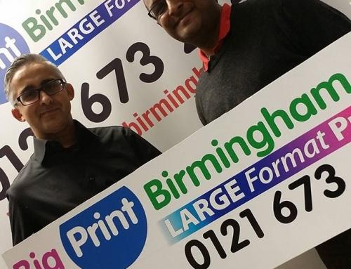 2 top business men @naeemarif1  and Khalid in the office. Please like and share #bigprintbirmingham #printingbirmingham #bigprintbham #selfieboard #rollerbanner