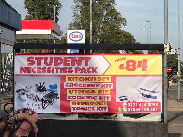Pvc Banner Installed At Rjf Furniture On Bristol Road