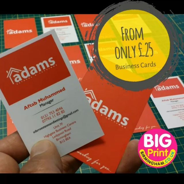 Business cards design and print from as little as 25 in most cases business cards design and print from as little as 25 in most cases next day deliverybigprintbirmingham printingbirmingham signmaker signs printshop colourmoves