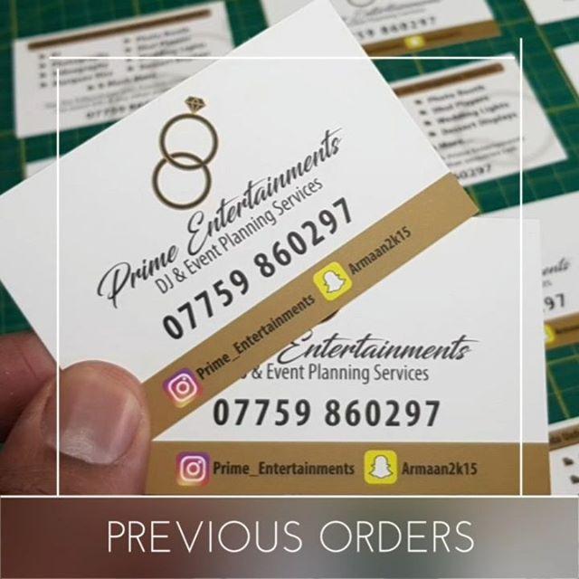 I Now Offer Same Day Business Card Printingwhatsapp Me Mr Big Print