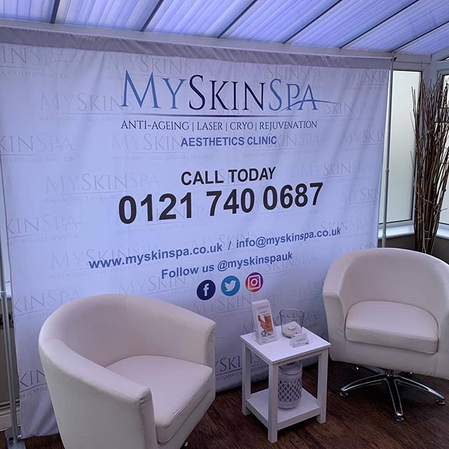 Back drop printed for @myskinspauk To place your order whatsapp me: Mak of Big Print Birmingham on 07702153393 Or use this whatsapp link from your mobile: https://wa.me/447702153393
