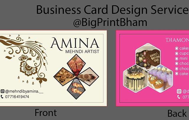 Business card design service To place your order whatsapp me: Mak of Big Print Birmingham on 07702153393 Or use this whatsapp link from your mobile: https://wa.me/447702153393