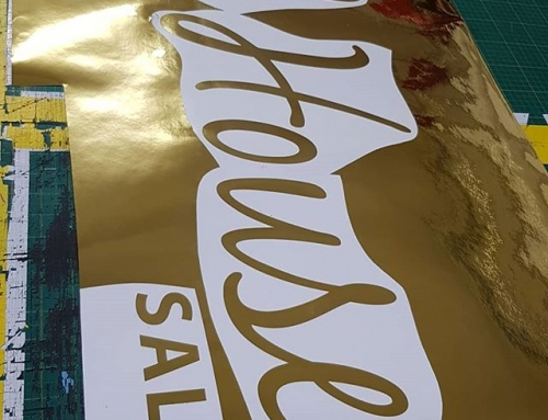 Mirror finish gold vinyl being weeded. To place your order whatsapp me: Mak of Big Print Birmingham on 07702153393 Or use this whatsapp link from your mobile: https://wa.me/447702153393
