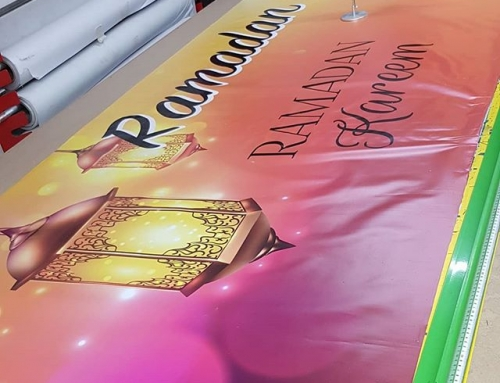 Ramadan banners being printed. To place your order whatsapp me: Mak of Big Print Birmingham on 07702153393 Or use this whatsapp link from your mobile: https://wa.me/447702153393