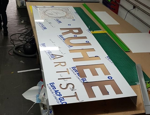 Sign Board production. Is looking great To place your order whatsapp me: Mak of Big Print Birmingham on 07702153393