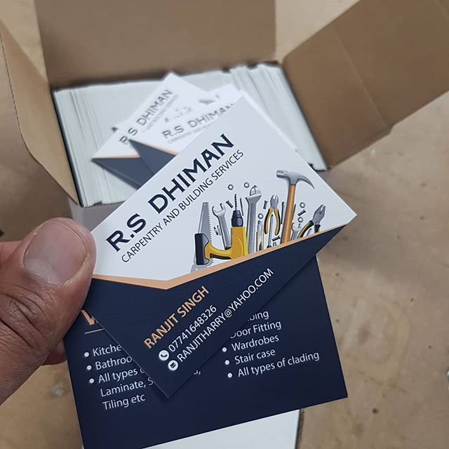 Do you need a business cards? Call Mr Big Print on 07702153393 To place your order whatsapp me: Mak of Big Print Birmingham on 07702153393