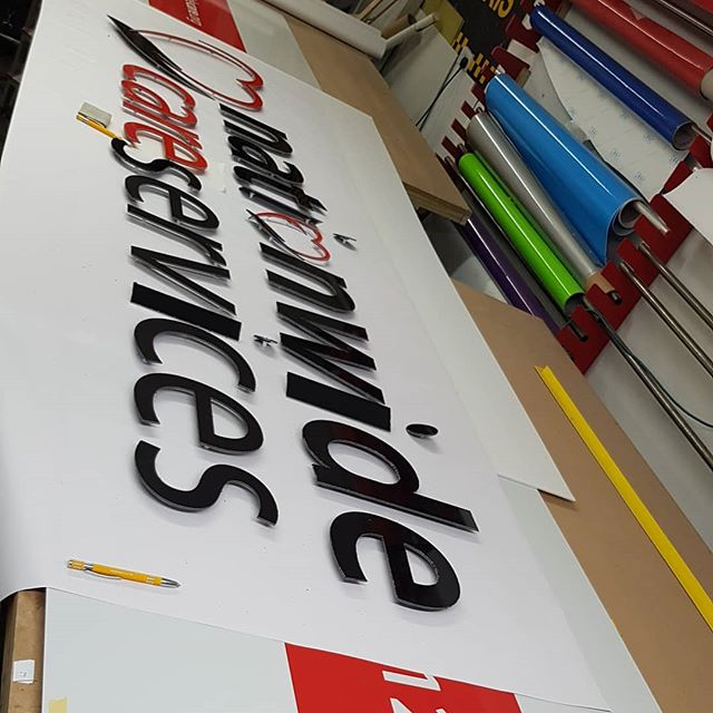 New signboard being made. To place your order whatsapp me: Mak of Big Print Birmingham on 07702153393