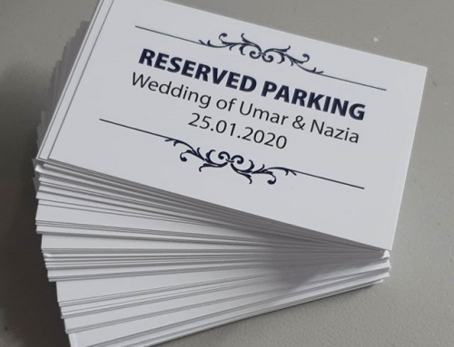 Need reserved parking cards for your wedding. To place an order If at all possible PLEASE whatsapp me on 07702153393