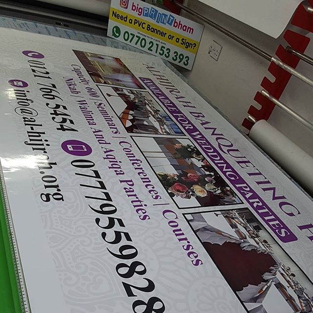 Another signboard gone up. 8x4 ACM board. Gloss Laminated To place an order If at all possible PLEASE whatsapp me on 07702153393