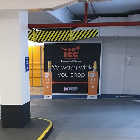 Fitting a wall graphic at @intuvictoriacentre Nottingham for @iccuklimited To place an order for a custom wallpaper If at all possible PLEASE whatsapp me on 07702153393