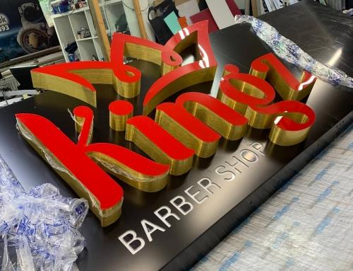@kingz_barber1 signboard